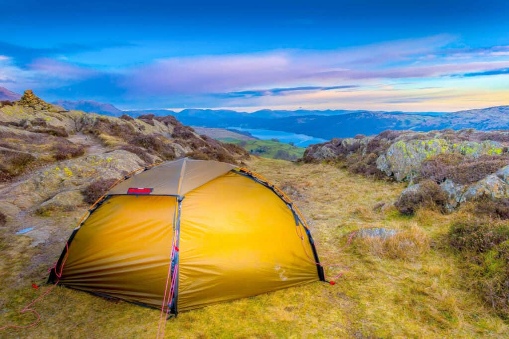 Landscape Photography Camping In The Lake District Image