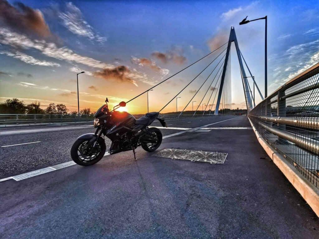 Huawei P30 Pro Image Of Motorbike