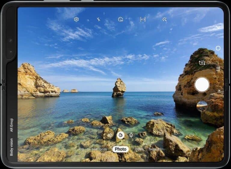 Samsung Galaxy Fold Camera Specs